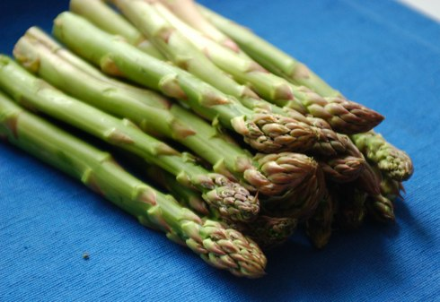 Asparagus for risotto