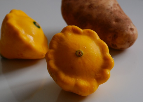Pattypan and Potato