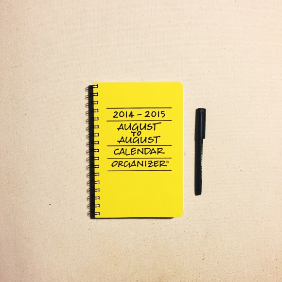 august to august kitchen calendar
