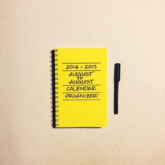 august to august kitchen calendar