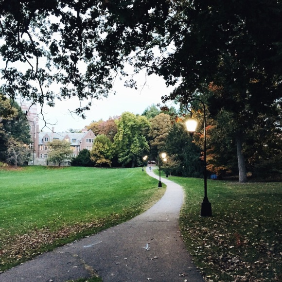 Paths at Wellesley College