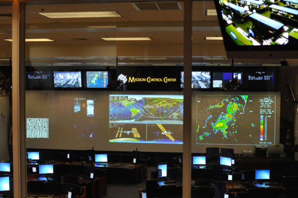 Mission Control Center Nasa Houston