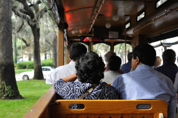 Old Savannah Tours Bus
