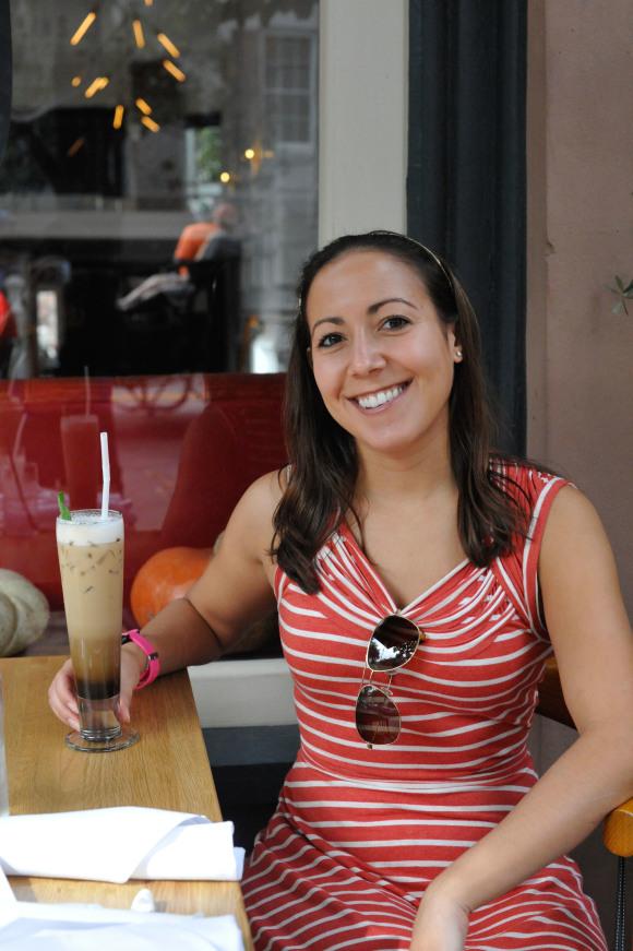 Rebecca at The Collins Quarter
