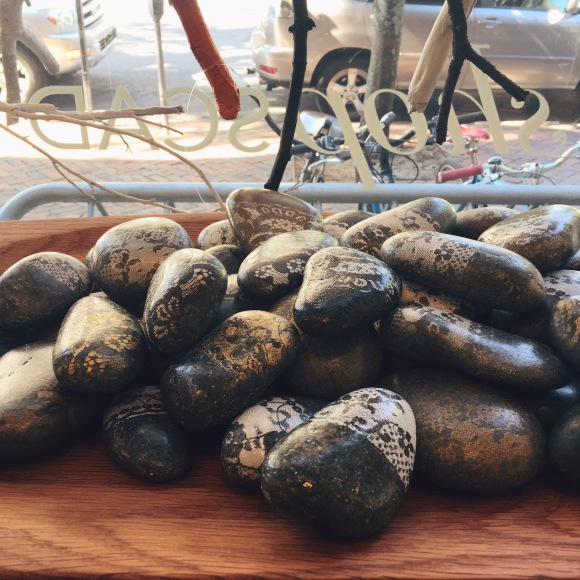 Rocks in the SCAD store