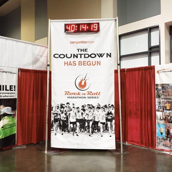 Savannah Marathon Countdown