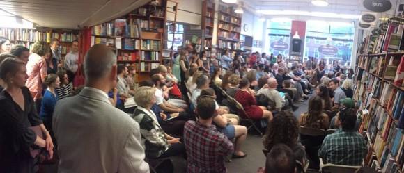 Jess Fechtor Stir at Harvard Bookstore