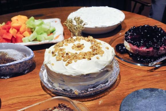 Rosh Hashanah Dessert Table