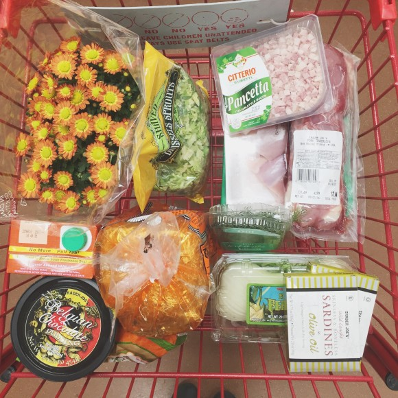 Trader Joe's Cart Haul