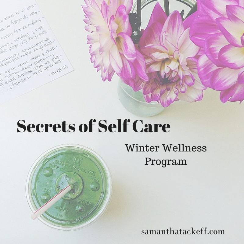 Sam Tackeff Secrets of Self Care