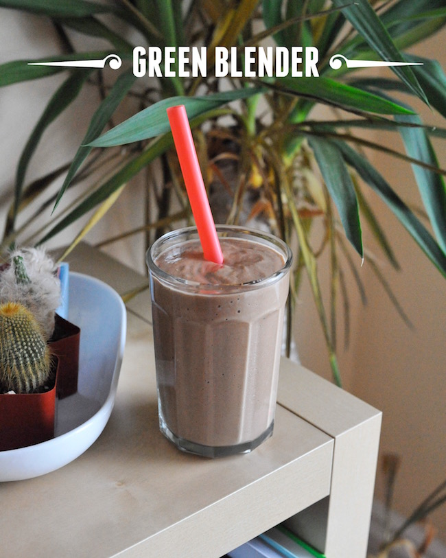 Green Blender via The Second Lunch