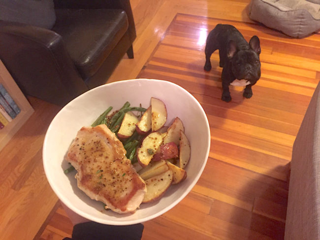 Home Chef Pork Chops The Second Lunch Dog