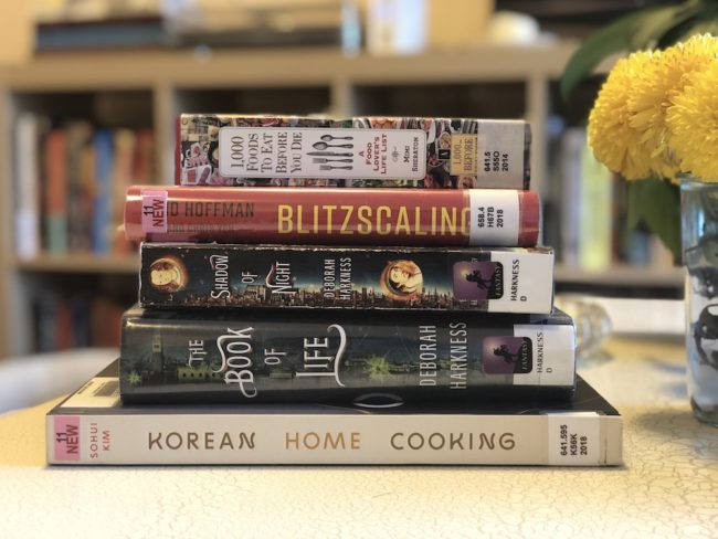 The Second Lunch Winter Library Haul