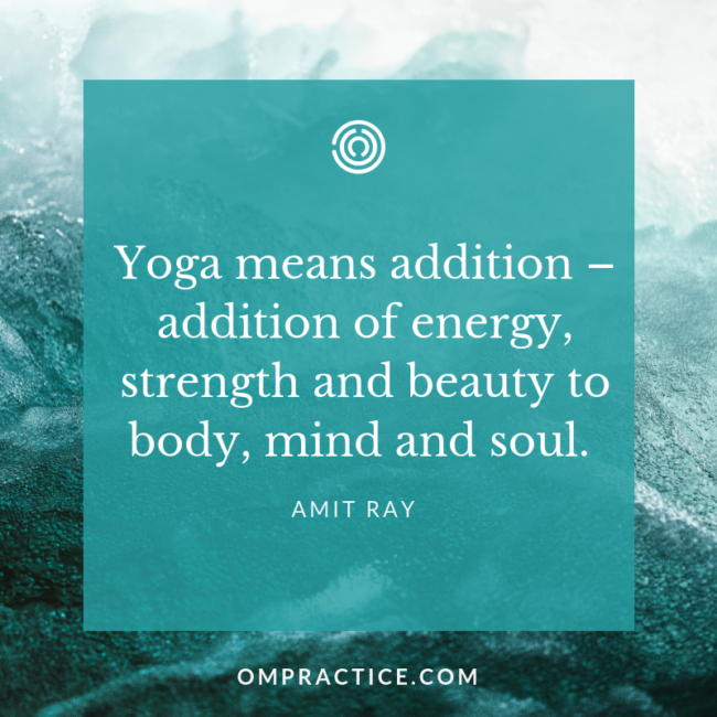 ompractice amit ray quote
