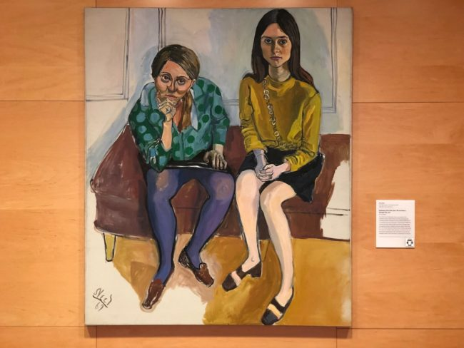 the second lunch alice neel wellesley girls the davis museum