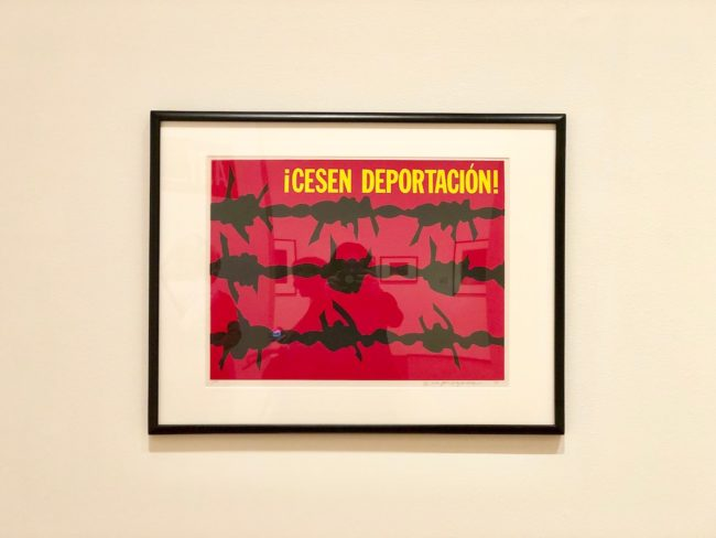 the second lunch the davis museum ruben garcia cesen deportacion