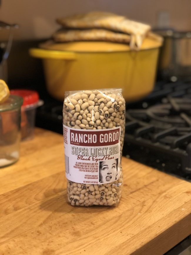 Rancho Gordo Super Lucky 2021 Black Eyed Peas on The Second Lunch
